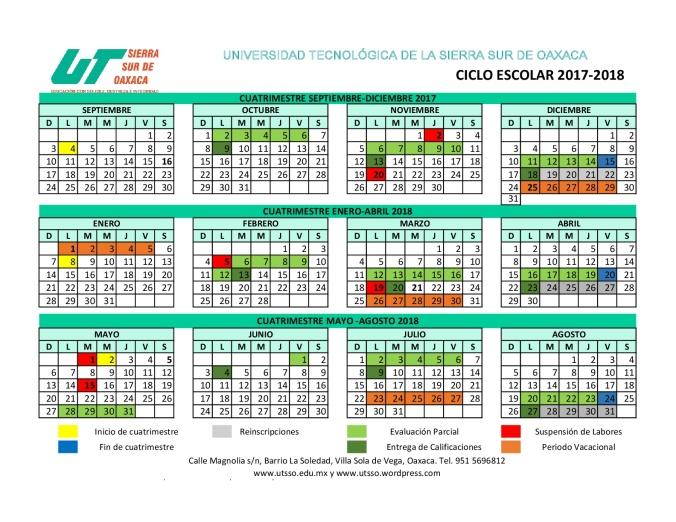 Calendario 2017-2018- UTSSO (1)-001 (1)